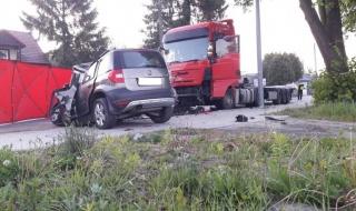 Śmiertelny wypadek na Rokicińskiej w Łodzi. Policja poszukuje świadków zdarzenia