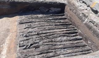 Interesujące znalezisko podczas przebudowy DK91. Trwają badania i zbieranie dokumentacji archeologicznej