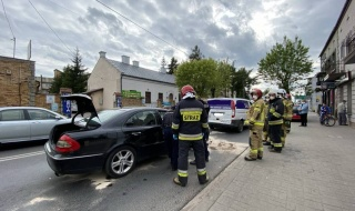 Rozbite samochody na Wojska Polskiego. Ruchem kieruje policja